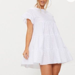Dresses & Skirts - Floral detail babydoll mini dress